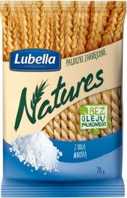 Paluszki Lubella Natures, z solą morską, zakręcone, 70g