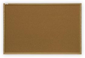 Tablica korkowa 2x3, w ramie MDF, 200x100cm, brązowy