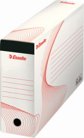 Pojemnik na 10 teczek zawieszanych Esselte, A4, 117x285x337mm, biały
