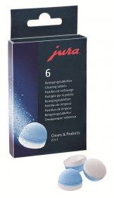 Tabletki czyszczące do ekspresu Jura, 6 sztuk