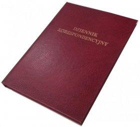 Dziennik korespondencyjny Barbara, A4, 192k, bordowy