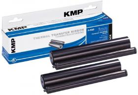 Taśma TTR KMP do faxów, wymienna z Panasonic KX-FA52X, czarny, 2szt w opakowaniu