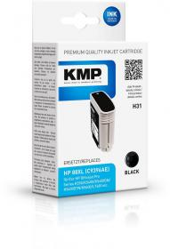 Tusz KMP H31, 88XL (C9396AE), 58ml, black (czarny)