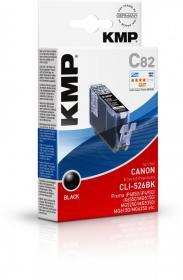 Tusz KMP C82 (CLI-526BK), 9ml, black (czarny)