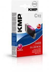 Tusz KMP CLI-551M XL, 15ml, magenta