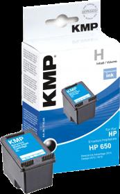 Tusz KMP (HP650-CZ101AE), 14ml, black (czarny)