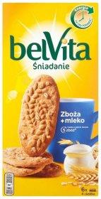 Ciastka zbożowe Belvita, 5 zbóż, 300g