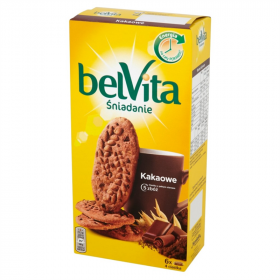 Ciastka Belvita 5 zbóż, kakao, 300g