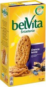Ciastka zbożowe Belvita, owoce leśne, 300g