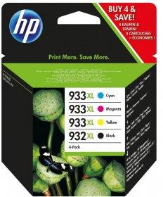 Zestaw tuszy HP C2P42AE, 4 sztuki, 825/1000stron, CMYK cyan(błękitny), magenta(purpurowy), yellow(żółty), black(czarny)