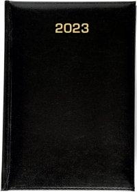 Kalendarz książkowy Udziałowiec 2018, Dyrektorski, A5, dzienny, 160 kartek, czarny