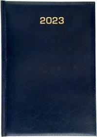 Kalendarz książkowy Udziałowiec 2019, Dyrektorski, A5, dzienny, 160 kartek, granatowy