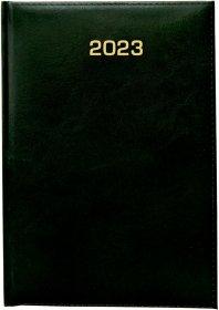 Kalendarz książkowy Udziałowiec 2022, Dyrektorski, A5, dzienny, 160 kartek zielony