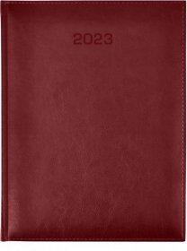 Kalendarz książkowy Udziałowiec 2022, Vivella, A5, dzienny, 184 kartki, bordowy