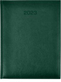Kalendarz książkowy Udziałowiec 2018, Nebraska, A5, dzienny, 176 kartek, zielony