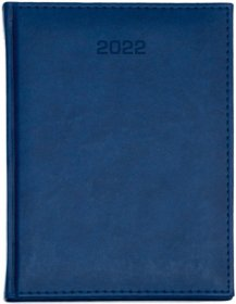 Kalendarz książkowy Udziałowiec 2020, Nebraska, A4, tygodniowy, 80 kartek granatowy B