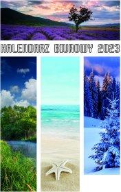 Kalendarz biurkowy Udziałowiec 2021, Merkury, 130x210mm, tygodniowy, 28 kartek