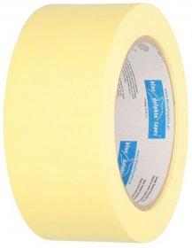 Taśma maskująca Blue Dolphin, papierowa, 48mmx50m, żółty