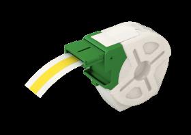 Kaseta z plastikową samoprzylepną taśmą do drukowania etykiet Leitz Icon, 12 mm, żółty