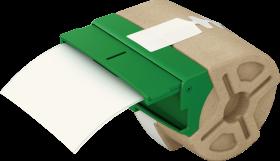 Kaseta z plastikową samoprzylepną taśmą do drukowania etykiet Leitz Icon, 88 mm, biały