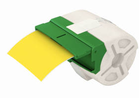 Kaseta z plastikową samoprzylepną taśmą do drukowania etykiet Leitz Icon, 88 mm, żółty