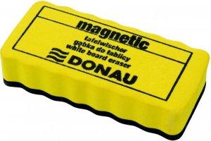 Gąbka magnetyczna Donau, 106x51x20mm, żółty
