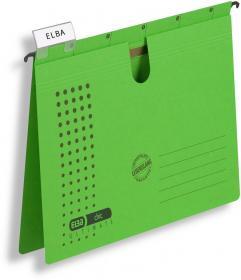 Skoroszyt zawieszany Elba Chic Ultimate, A4, 245x318mm, 230g/m2, zielony