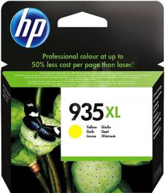 Tusz HP C2P26AE 935XL, 825 stron, yellow (żółty)