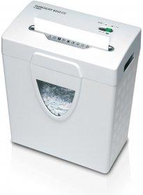 Niszczarka Ideal Shredcat 8240 CC, pasek/ścinek 4x40 mm, 6 kartek, P-4/F-1 DIN, biały