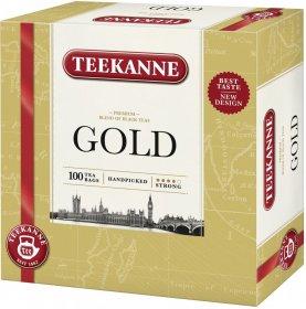 Herbata czarna w torebkach Teekanne Gold, 100 sztuk x 2g