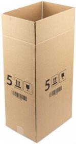 Karton klapowy Ofix Economy, 310x225x535 mm, brązowy