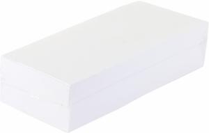 Papier do recept 1/3 A4, 80g/m2, 500 arkuszy, biały