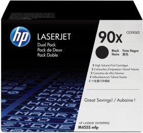 Toner HP 90X (CE390XD), 2 sztuki, 2x24000 stron, black (czarny)