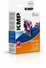 Tusz KMP B43 (LC-123M), 8ml, magenta (purpurowy)