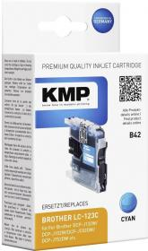 Tusz KMP LC-123C, 8ml, cyan