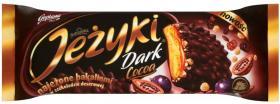 Ciastka Jeżyki, w ciemnej czekoladzie, 140g