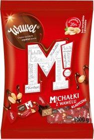 Cukierki Michałki Wawel, orzechowy w deserowej czekoladzie, 1kg