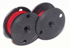 Taśma do kalkulatora KMP, 13x6, GR51, 1 sztuka, czerwono-czarny