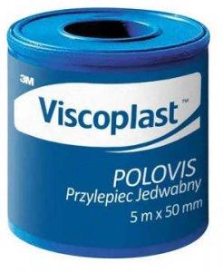 Plaster w rolce Viscoplast Polovis, 5cm x 5m, biały