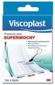 Plaster opatrunkowy do cięcia Viscoplast Prestovis Plus, 6cmx1m