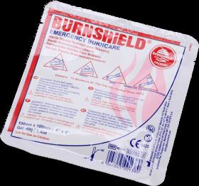 Opatrunek hydrożelowy na oparzenia Burnshield, 10x10cm