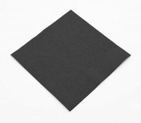 Serwetki papierowe A-ha, 24x24cm, dwuwarstwowe, 200 sztuk, czarny