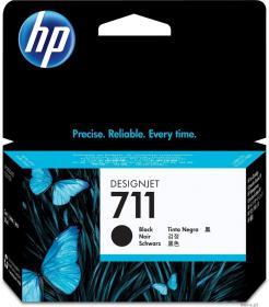 Tusz HP 711 (CZ129A), 38 ml, black (czarny)