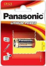 Bateria litowa Panasonic Lithium Power CR123, 1 sztuka