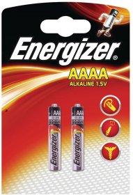 Bateria alkaliczna Energizer AAAA E96, 2 sztuki