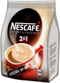 Kawa rozpuszczalna w saszetkach Nescafé 2w1, 10 sztuk x 10g