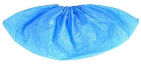 Ochraniacze foliowe na obuwie, 100 sztuk, niebieski