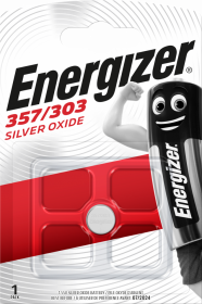 Bateria specjalistyczna Energizer, 357/303, SR44W, 1 sztuka