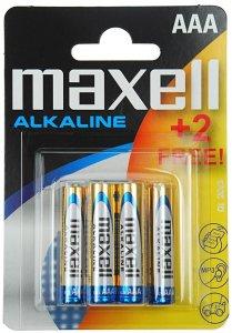 Bateria alkaliczna Maxell, AAA, 6 sztuk