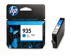 Tusz HP 935 (C2P20AE), 400 stron, cyan (błękitny)